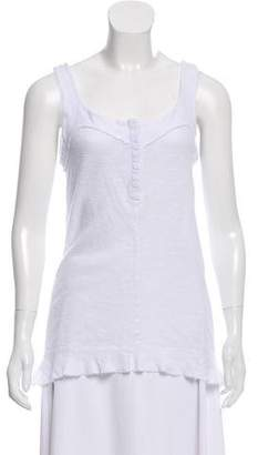 Christina Lehr Sleeveless Scoop Neck Top w/ Tags