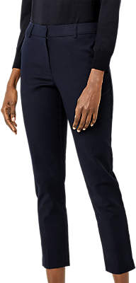 Warehouse Compact Trousers, Navy