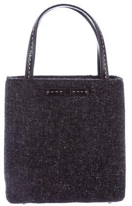 Kate Spade Kate Spade New York Leather-Trimmed Tweed Tote