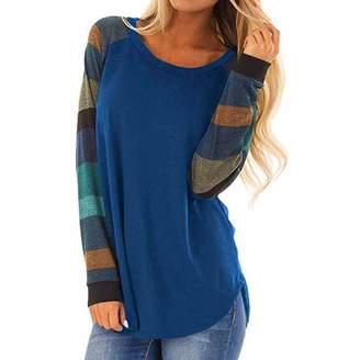 3937c688157ba Changeshopping Blouse Women s Stripe T-Shirt