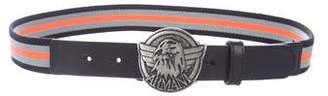 Armani Junior Boys' Stripe Belt w/ Tags