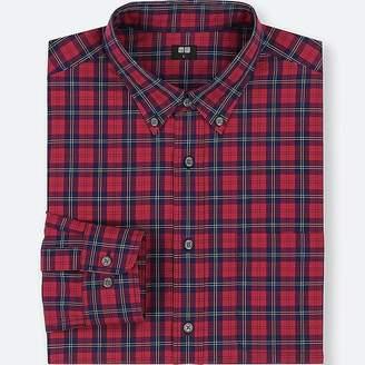 Uniqlo Men's Extra Fine Cotton Broadcloth Long-sleeve Shirt