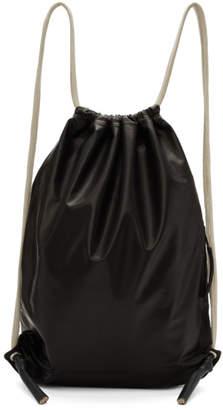 Black Small Drawstring Backpack