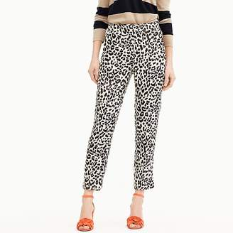 J.Crew Tall Easy pant in leopard