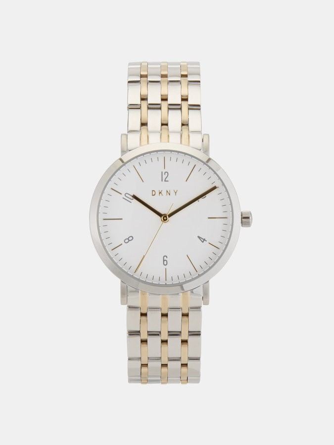 DKNY Minetta Stainless Steel And Gold-Tone Watch