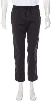 Dolce & Gabbana Satin Trimmed Pants