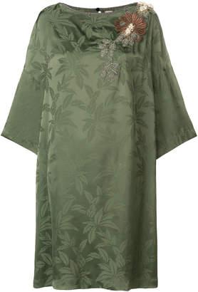 Antonio Marras floral flared mini dress