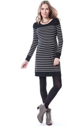 Seraphine Hayden Striped Nursing Dress