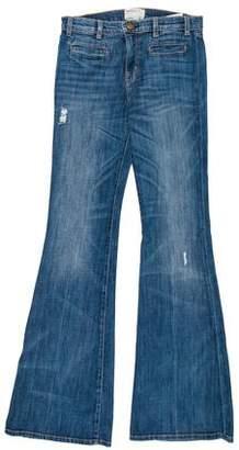 Current/Elliott Mid-Rise Flare Jeans