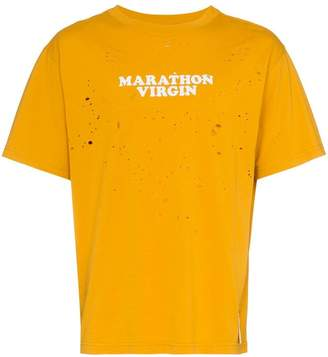 Satisfy marathon virgin cotton t-shirt