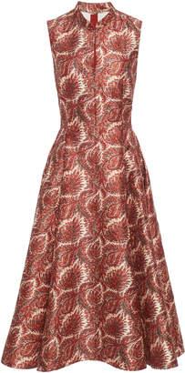 ADAM by Adam Lippes Jacquard Full Skirted Dress