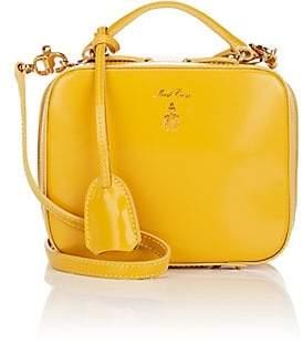 3ee483922d8f Mark Cross Women s Laura Baby Leather Camera Bag - Yellow