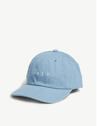 88d43f4b3ba Obey Intention 6 cotton snapback cap