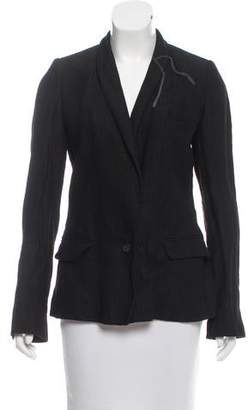 Anne Valerie Hash Shawl Lapel Button-Up Blazer