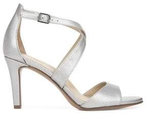 Naturalizer Kyra Metallic Heeled Sandals
