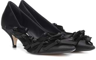 N°21 Satin pumps