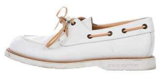 Louis Vuitton Leather Boat Shoes