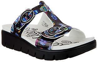 Alegria T-Strap Slide Sandals - Vita