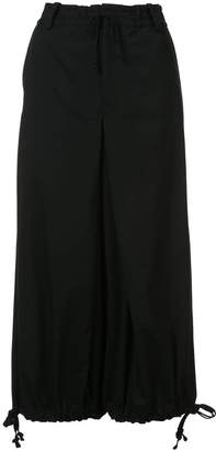Y's drawstring palazzo trousers