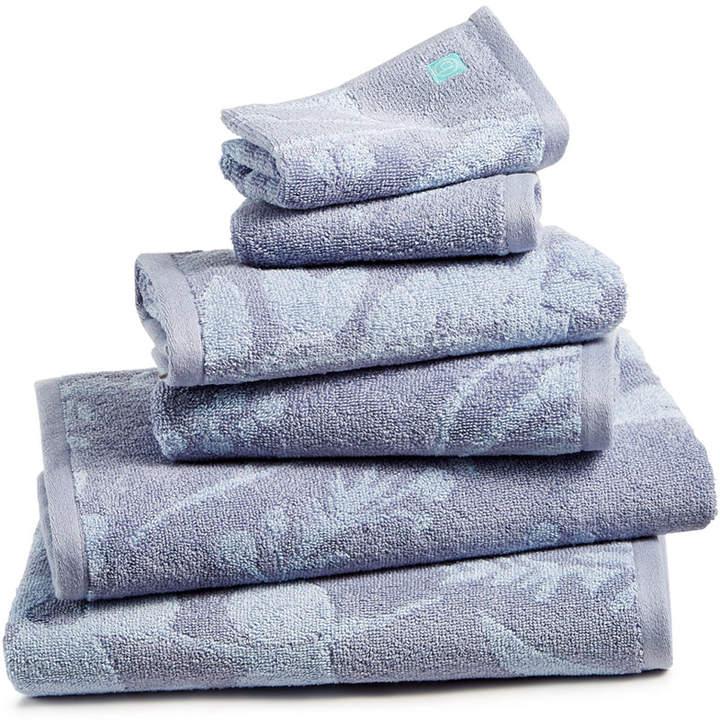 bluebellgray Fleur Cotton Bath Towel Set Bedding
