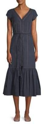 Rebecca Taylor Cotton Poplin Dress