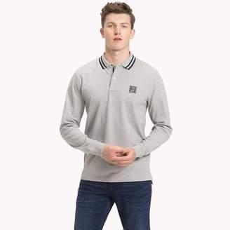 Tommy Hilfiger Stripe Collar Polo Shirt