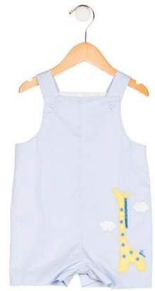 Florence Eiseman Boys' Embroidered Overalls