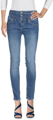Silvian Heach Denim pants - Item 42667034SB