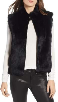 La Fiorentina Genuine Rabbit Fur Vest