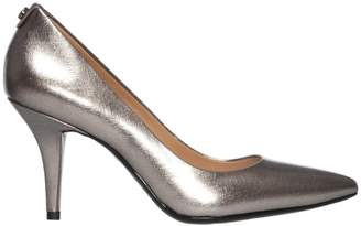 Michael Kors Saffiano Metallic High Heels