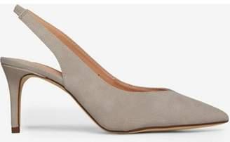 Dorothy Perkins Womens Grey Slingback 'Essie' 80's Court Shoes