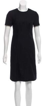 Paul Smith Wool-Blend Knee-Length Dress