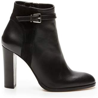Cosmo Paris COSMOPARIS Salana High-Heeled Leather Ankle Boots