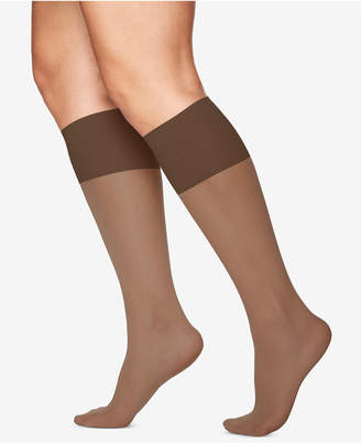 Berkshire Women's Plus Size Sheer Graduated Compression Trouser Socks 5202