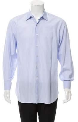 Lanvin Striped Long Sleeve Shirt