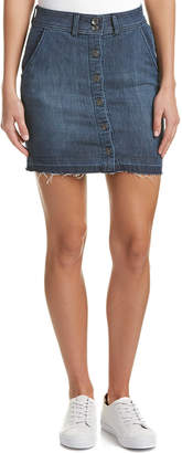 Splendid Raw Edge Mini Skirt