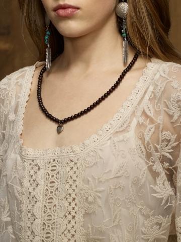 Denim & Supply Ralph Lauren Embroidered Draped Mesh Top