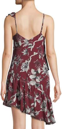 Parker Makenna Asymmetric Mini Dress