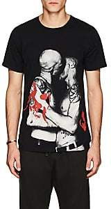 Made in Me 8 Men's Kiss-Graphic Cotton T-Shirt-Black