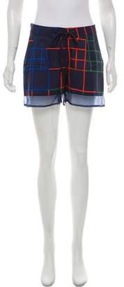 Timo Weiland Geometric Print Mini Shorts w/ Tags