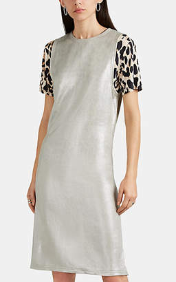 Paco Rabanne Women's Keyhole-Back Sleeveless Dress - Silver