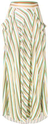 3.1 Phillip Lim long striped skirt