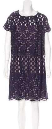 Lanvin 2015 Lace Mini Dress