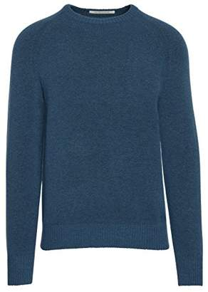 Life After Denim Men's Long Sleeve Cozy Wool Blend Crew Neck Sweater