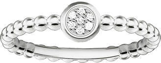 Thomas Sabo Glam and Soul Sparkling Circles sterling silver diamond ring