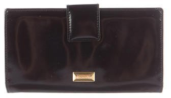 Moschino Moschino Patent Leather Wallet