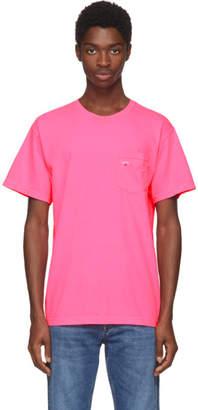 Noah NYC Pink Pocket T-Shirt