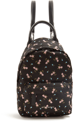GIVENCHY Hibiscus mini nylon backpack $990 thestylecure.com