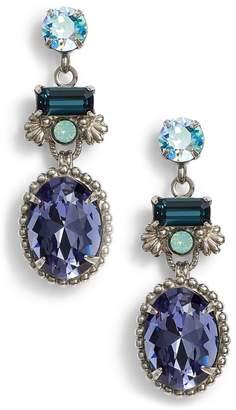 Sorrelli Bergenia Crystal Drop Earrings
