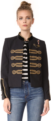 The Kooples Military Jacket $715 thestylecure.com